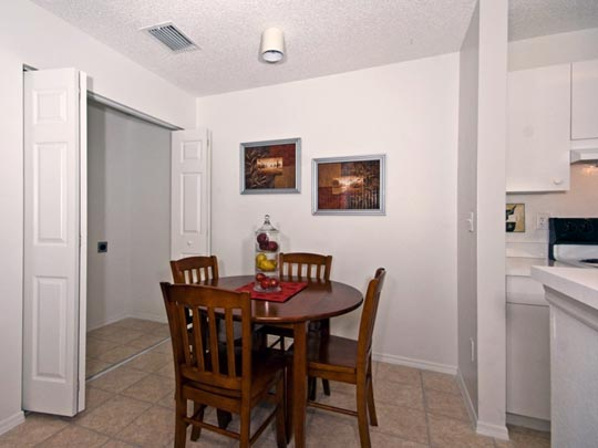 Photo Of A Dedicated Apartment Dining Room.