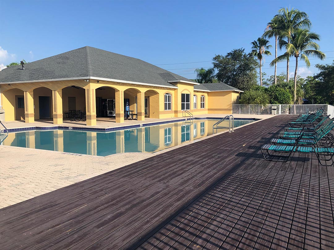 Photo Of The Refreshing Community Pool And Resort-Style Patio.